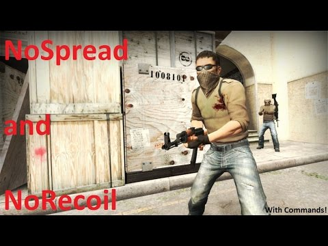 CS:GO NoSpread and NoRecoil with Console