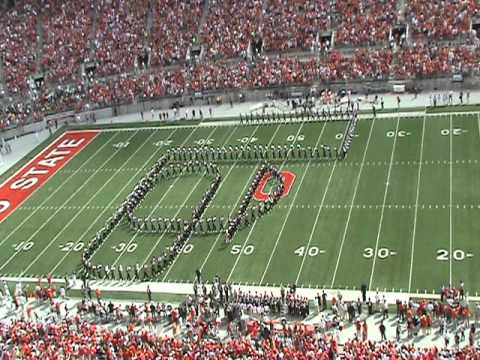 OSU Marching Band Pregame Show, Toledo vs. OSU, 10 Sep 2011