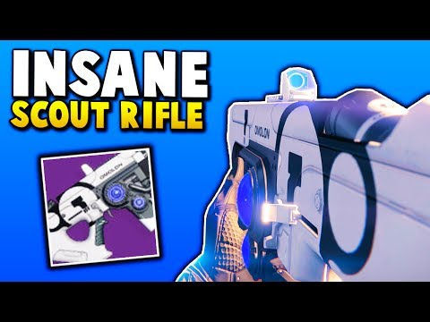 """Destiny INSANE SCOUT RIFLE FOR PVP! """"HUNG JURY SR4"""" (Destiny OLD BEAST SCOUT RIFLE)"""