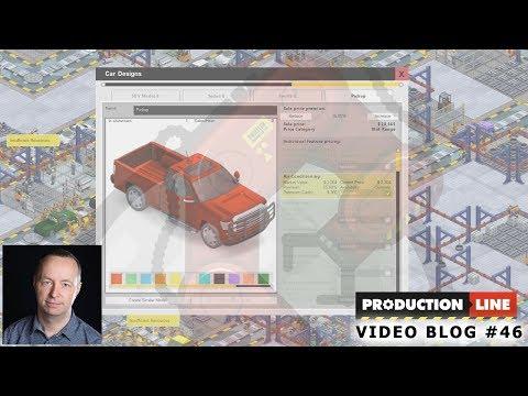 Production Line Game: Dev blog #46 (Pickup-Truck!)