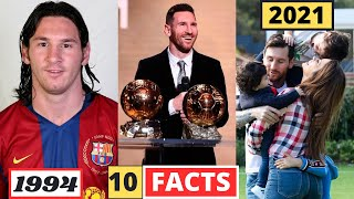 Lionel Messi 10 SHOCKING UNKNOWN Facts - You Didn't Know - 2021
