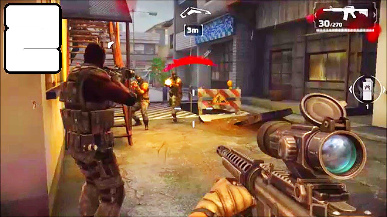 Modern Combat 5 : Blackout ( Fuga Alucinante em Tóquio ) - Parte 2 Gameplay Android