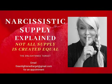 Narcissistic Supply Explained, not all supply is created equal