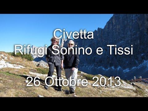 Civetta - Rifugi Sonino E A. Tissi - 26 Ottobre 2013 - Escursionismo