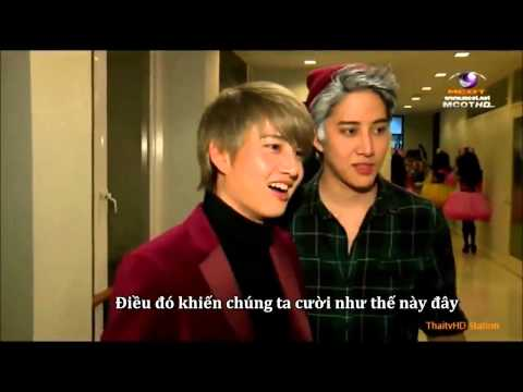 [VIETSUB] Golf & Mike Lovely Moment In Dao Kra Jai On Dec 22, 2014