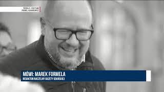 MAREK FORMELA (GAZETA GDAŃSKA) - POGRZEB ADAMOWICZA TO CZAS ZADUMY NARODOWEJ