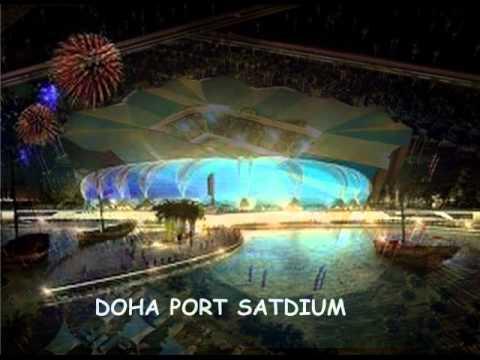 Les 12 stades du qatar pour 2022 youtube - Stade coupe du monde 2022 ...
