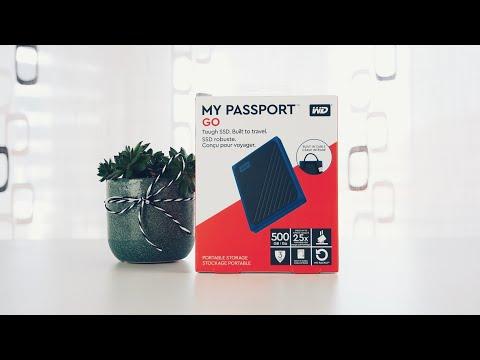 Klein, schnell und ultra mobil: WD My Passport Go Review (Deutsch)