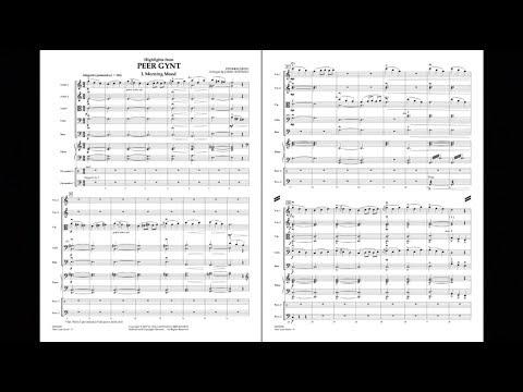 Highlights from Peer Gynt by Edvard Grieg/arr. Jamin Hoffman