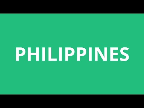How To Pronounce Philippines - Pronunciation Academy