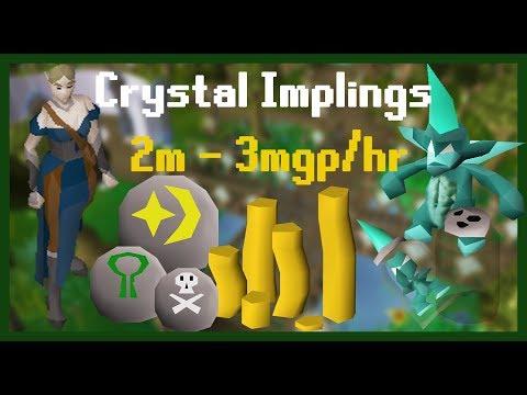 Crystal Impling Guide 2-3m/hr OSRS (12-18 Imps)