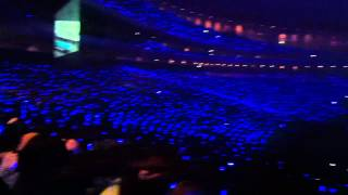Super Junior SS4 TOKYO sapphire blue sea 1 @ Tokyo Dome