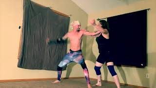 OWEN HART VS MATTJONES2587 | YouTube WresTling ShoW *Full Match*