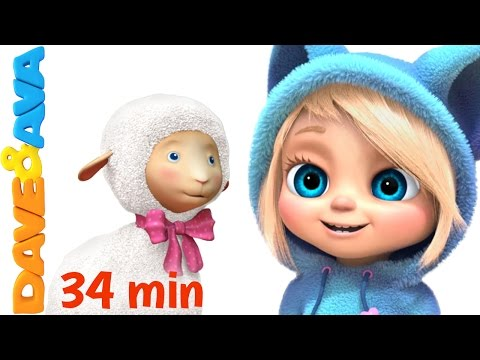 😃 Nursery Rhymes Collection | YouTube Kids Songs from Dave and Ava 😃
