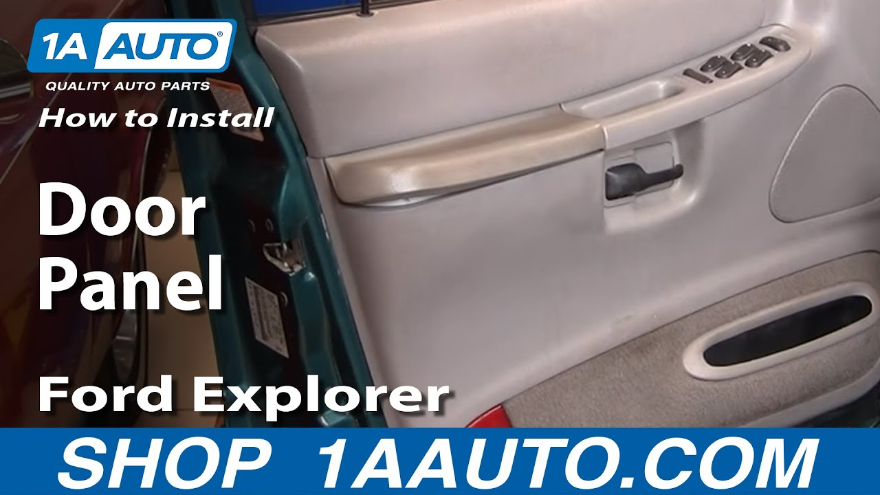 medium resolution of how to replace door panel 95 01 ford explorer