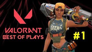 VALORANT | BEST OF PLAYS  #1