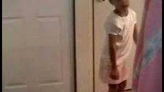 Nia singing Enough Crying by Mary J Blige age 4