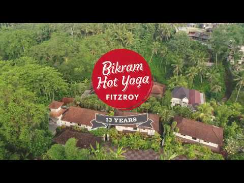 Images from Bikram Yoga Fitzroy Bali Ubud Retreat May 2018