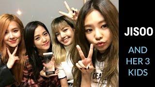 [BLACKPINK] Jisoo and her 3 children