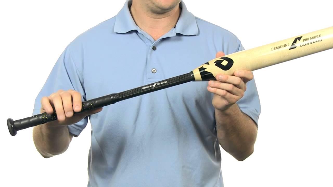 DeMarini Corndog Wood Composite Bat: DXCDS Slow Pitch
