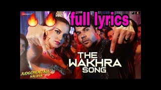 Tha wakhra  ( lyrics )singar navv, inder, Lisa mishra  & raja kumari  full lyrics song