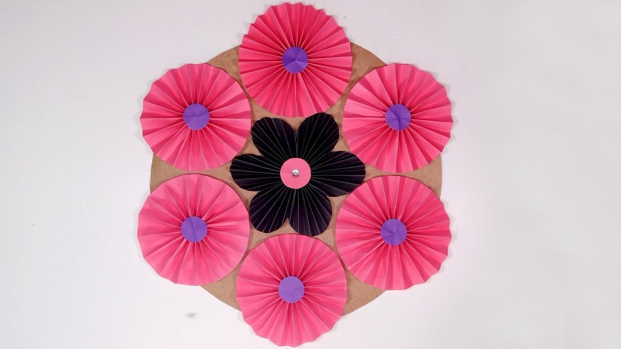 Handcraft How To Make Beautiful Wall Decoration For Your Home Wall