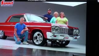 May-June 2017 Gatefold: Danny and Danielle Tackett's 1964 Chevy Impala SS