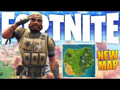 Fortnite Season 5: New Map, Outfits & Vehicles! - Fortnite Battle Royale Season 5 Gameplay