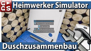 HEIMWERKER SIMULATOR 🛠 DUSCHE zusammenbauen ► #12 House Flipper deutsch