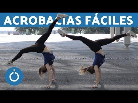 ACROBACIAS FÁCILES - Hacer la PALOMA con una pierna