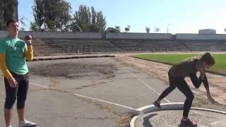 Лёгкая атлетика 2000 г.р. и младше толкание ядра Наталья Коваленко