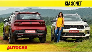 2020 Kia Sonet review - It's a mini Seltos | First Drive | Autocar India