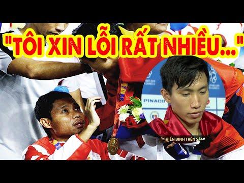 Đoàn Văn Hậu trực tiếp xin lỗi cầu thủ Indonesia sau pha va chạm đêm chung kết Sea Games 30
