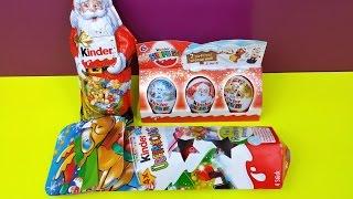 Surprise Eggs Chocolate Eggs Kinder Surprise Christmas Edition Santa Claus Thumbnail