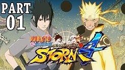 Let's Play Naruto Ultimate Ninja Storm 4 Gameplay German Deutsch PS4 Part 1 - Hashirama vs Madara