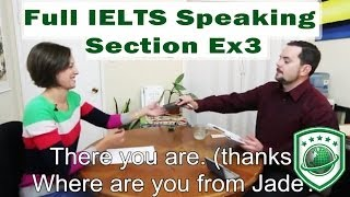 Preparation for IELTS : Section Spreaking