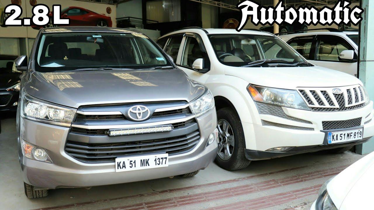 5 Suv Muv Buy Used Cars Second Hand Bangalore Toyota Innova Crysta Fortuner Xuv 500 Maruti Ertiga Youtube