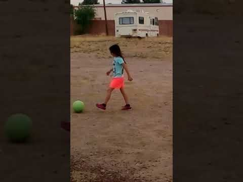 MarKitty Cat playing Soccer