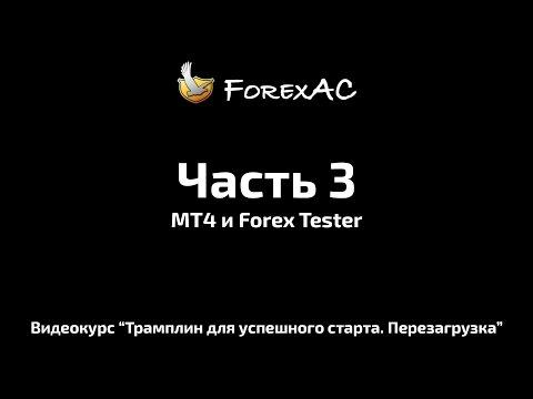 Урок №3. МТ4 и Форекс тестер.