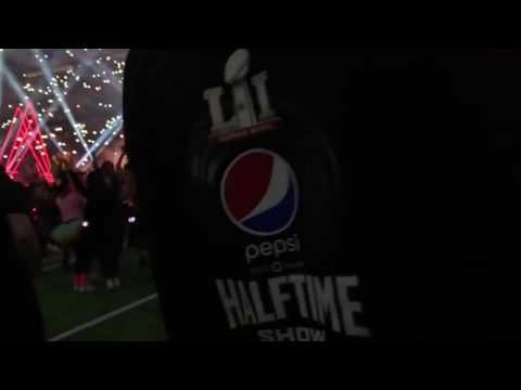 Super Bowl 2017 Lady Gaga Behind Scene