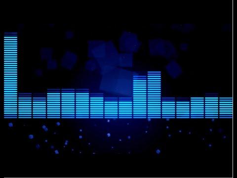 Футаж HD. Фон-плашка - музыкальный эквалайзер