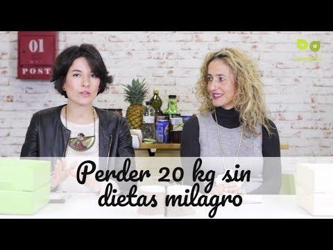 Adelgazar 20 kilos sin dietas milagro, aprender a perder 20 kg