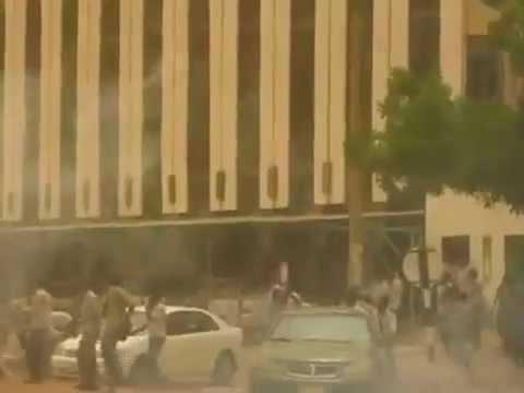 Sudan University Students Protest in Central Khartoum - 20-06-2012