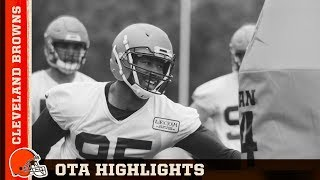 'The Browns Are Back!' OTA Highlights Video   Cleveland Browns