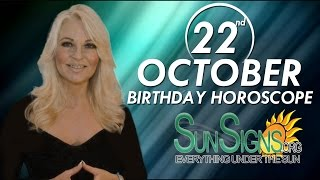 Birthday October 22nd Horoscope Personality Zodiac Sign Libra Astrology