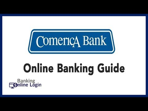 Comerica Bank Online Banking Guide | Login - Sign Up