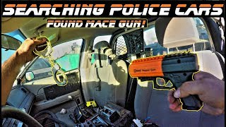 connectYoutube - Searching Police Cars Found Mace Gun!