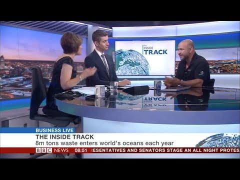 David Katz on BBC News - The Plastic Bank & Social Plastic
