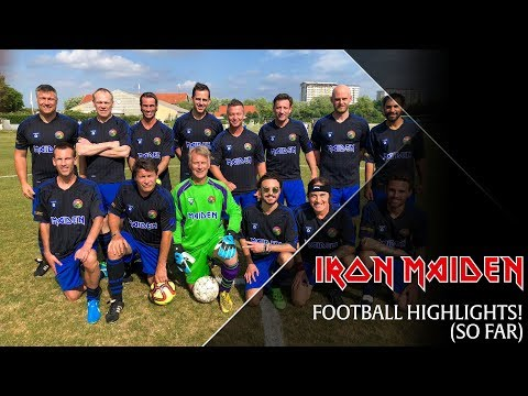 Iron Maiden - FOOTBALL!!!!