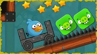 Angry Bird In Red Ball 4 Into The Cave Mobile Game Walkthrough